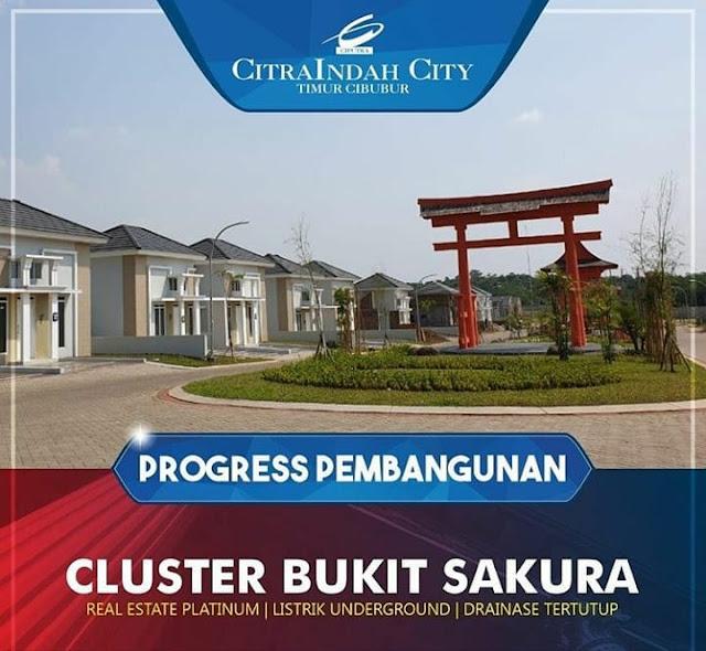 Rumah 2 Lantai SAKURA 5 Citra Indah City mulai dipasarkan