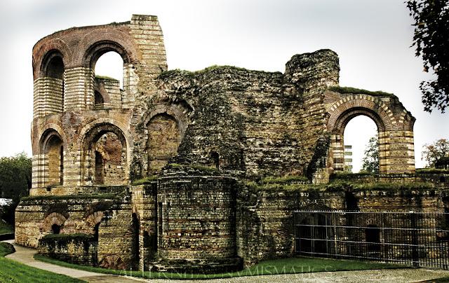 Ruinas de las termas monumentales de Tréveri