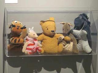 Winnie The Pooh dolls Assiniboine Park