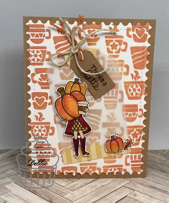 Thanks a latte features products by Newton's Nook Designs; #indys_designs, #cupcakeinspirations, #newtonsnook, #cardmaking