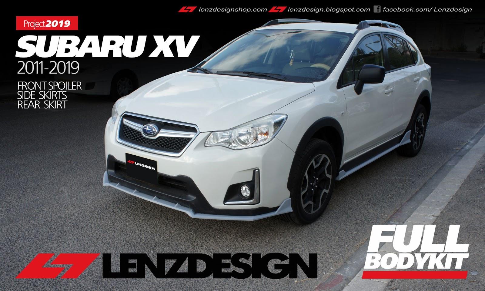 Subaru XV Crosstrek Bodykit Lenzdesign 2011-2019