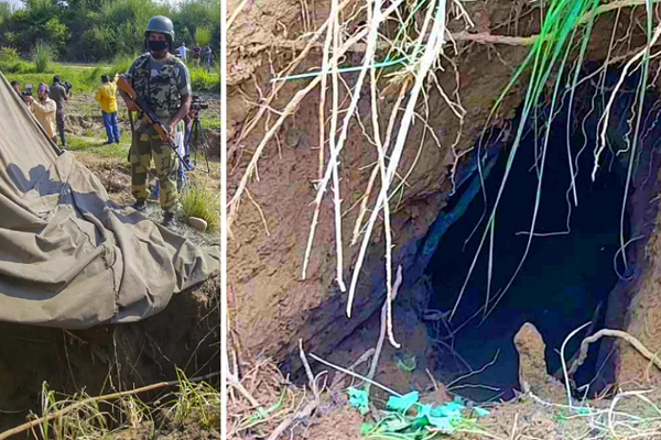 The second tunnel on the Kashmir border is of concern to India