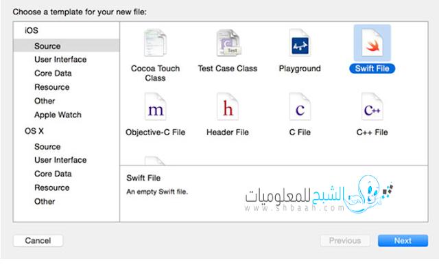 إنشاء Swift استخدام Initialization  و Initializer