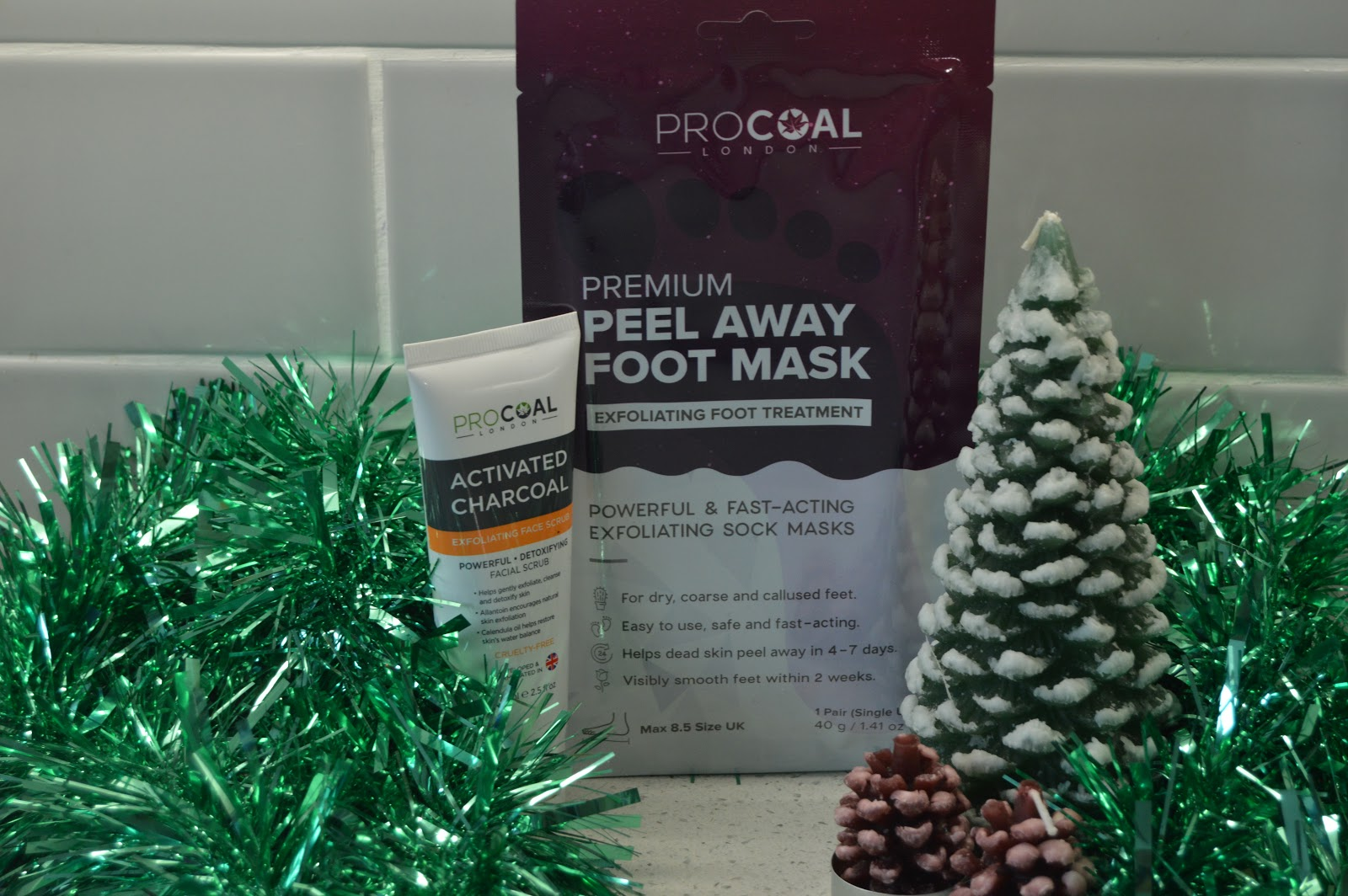 Pro Coal peel away foot mask