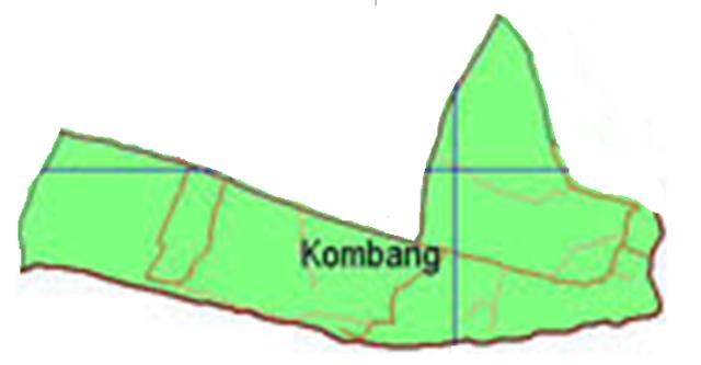 peta desa kombang