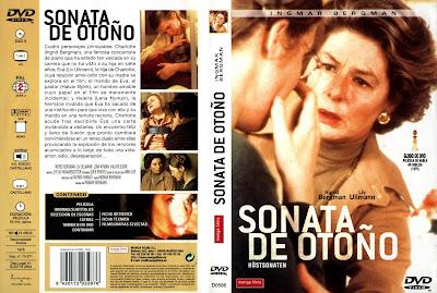 Carátula - Sonata de otoño - Ingmar Bergman