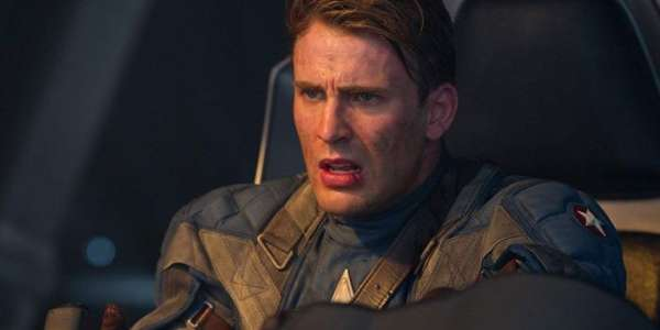 Image of Chris Evans as Captain America / Steve Rogers in Captain America: The First Avenger movie