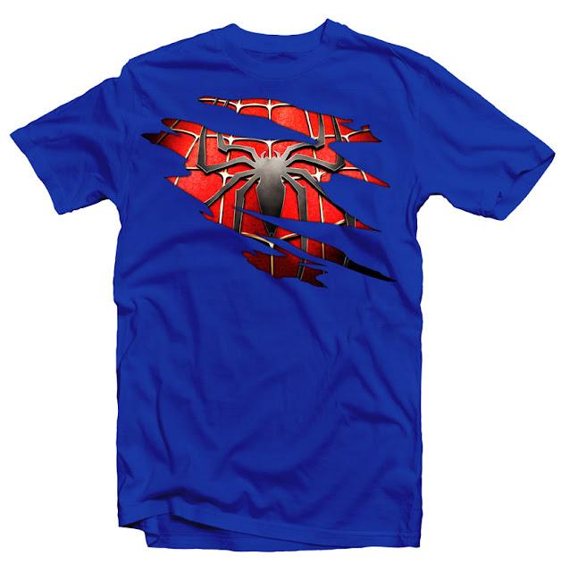 spider man tshirt