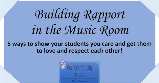 Building Rapport Music Room