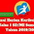 Jurnal Harian Kurikulum 2013 Kelas 1 SD/MI Semester 1 Tahun 2019/2020 - Mutu SD