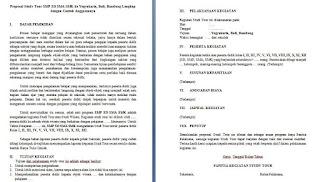 Proposal Study Tour SMP SD SMA SMK ke Yogyakarta, Bali, & Bandung Lengkap dengan Contoh Anggarannya