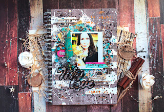 [ Declaration of love ] @marinasyskova#mixedmedia #scrap #scrapbooking #7dotsstudio #scrapmir #scrapego #cover #artbook