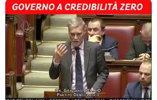 """فيديو..برلماني إيطالي: """"الحكومة أحرقت 7 مليار يورو على مشروع"""" العجز"""""""