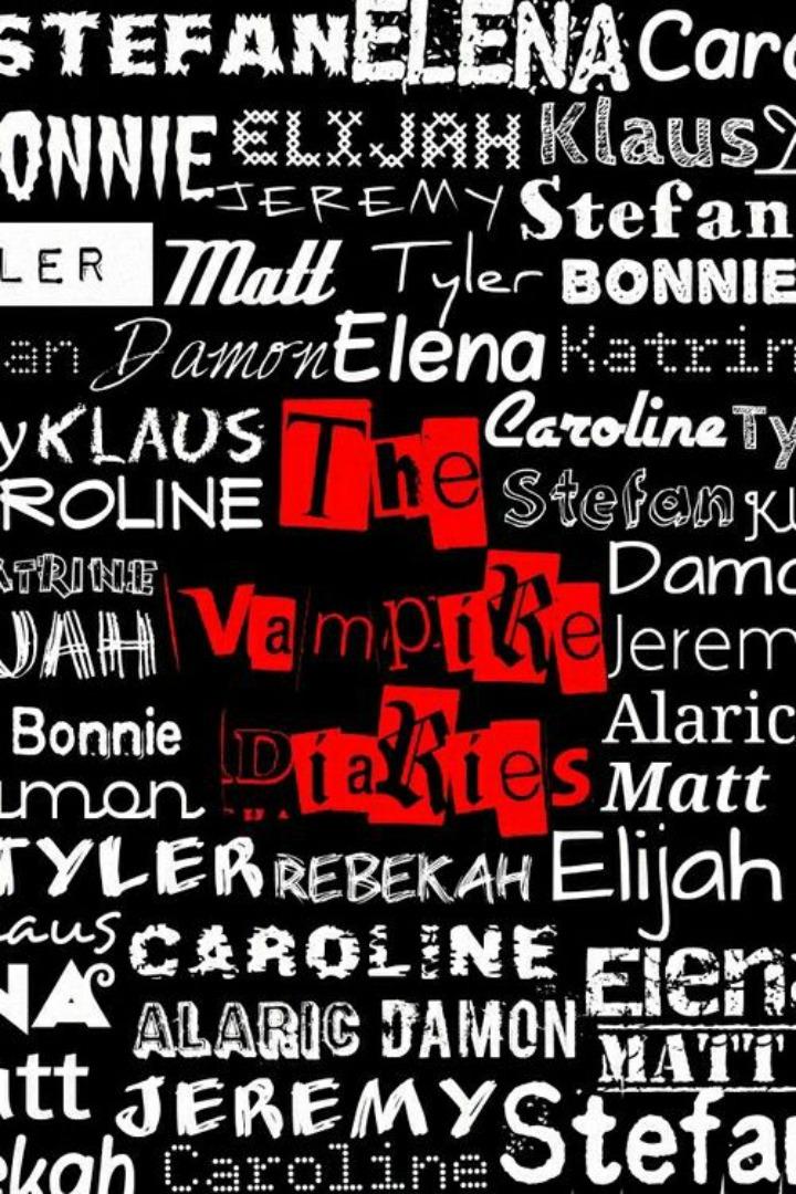 Papéis de parede da série The Vampire Diaries para celular