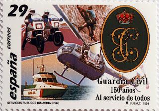 GUARDIA CIVIL 150 AÑOS AL SERVICIO DE TODOS