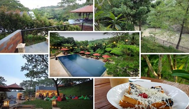 Paradesa Park, Cafe dan Resto dengan Panorama Desa dan Sungai Yang Asri
