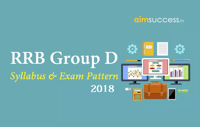 RRB Group D Detailed Syllabus & Exam Pattern 2018