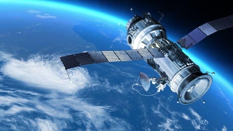 Satellite orbits the Earth