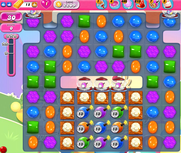 Candy Crush Saga level 2209