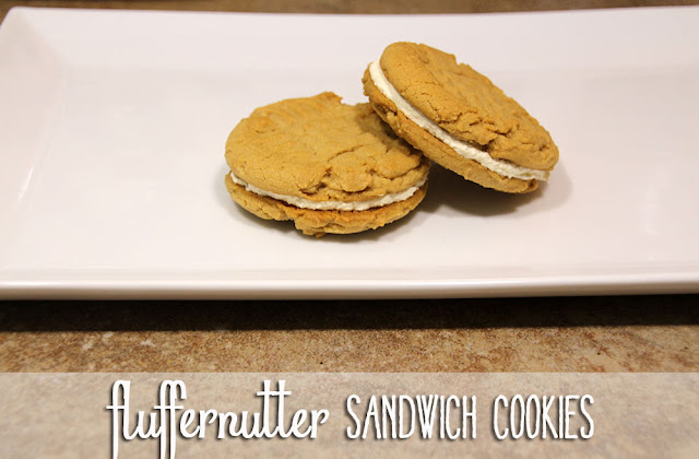 Fluffernutter Sandwich Cookies