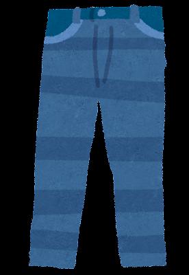 ジーパン・ジーンズ・デニムのイラスト