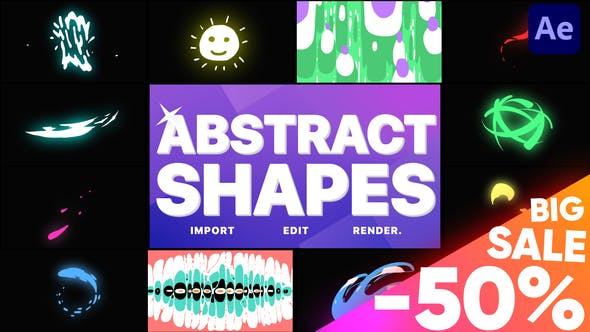 Abstract Liquid Shapes[Videohive][After Effects][28961361]