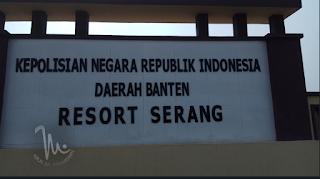 Huruf timbul Acrylic POLRES SERANG Banten