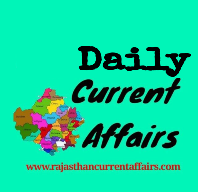 CURRENT AFFAIRS 29 JULY 2020