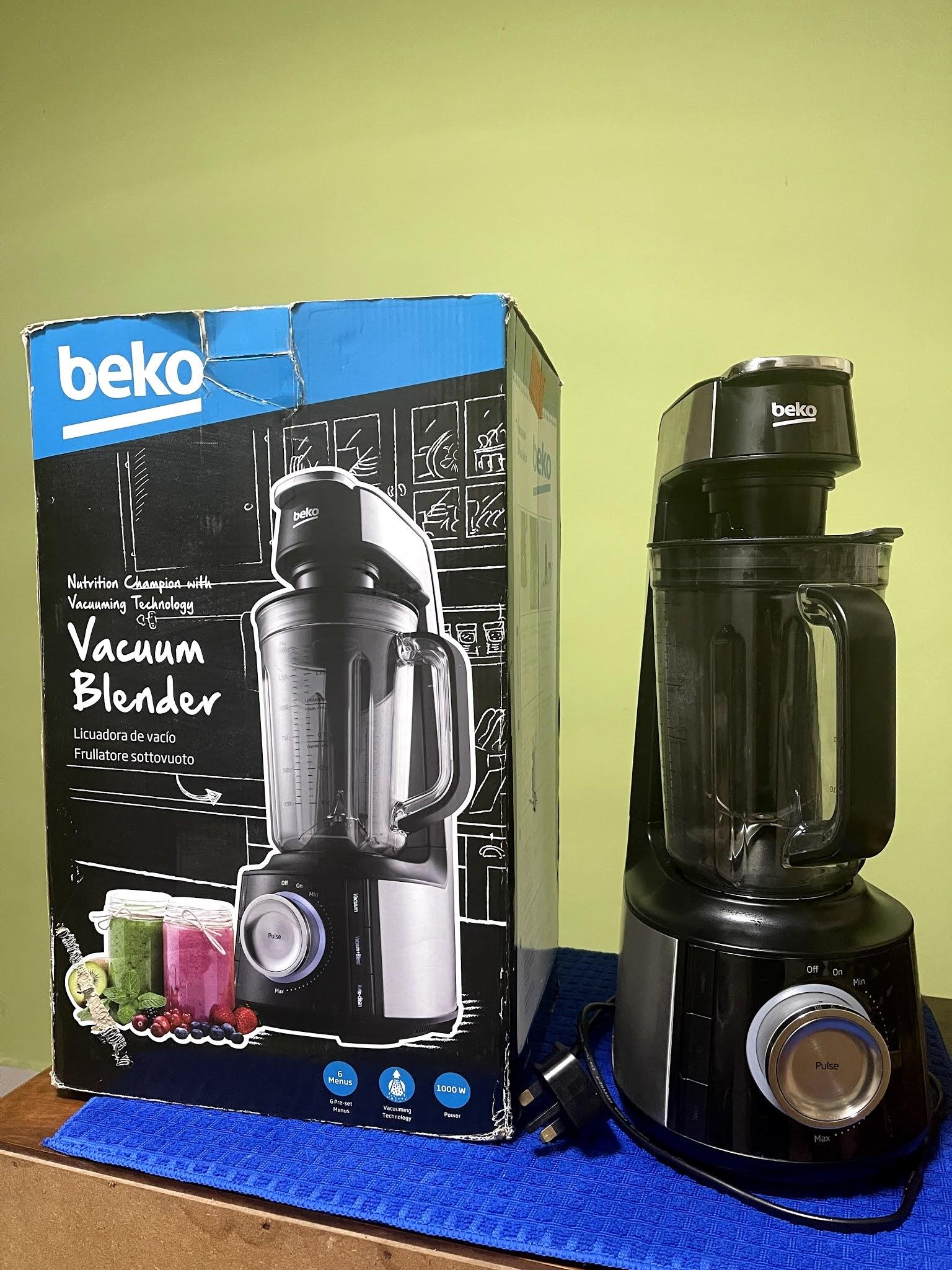 REVIEW BEKO VACUUM BLENDER TBV8104BX
