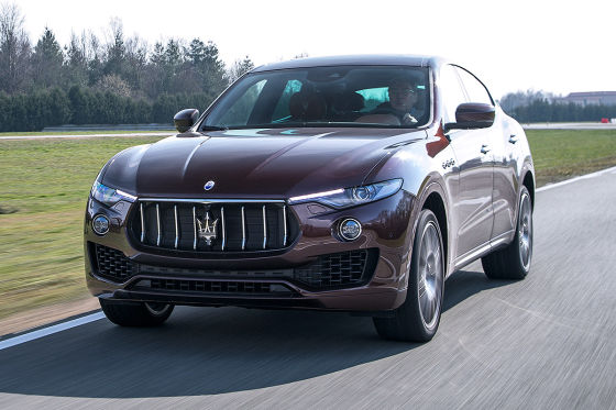 New Maserati Levante S Crossover