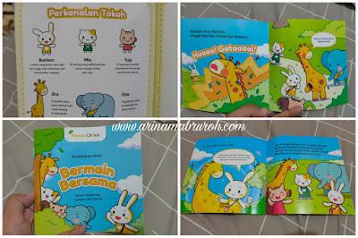 Rekomendasi buku yang cocok untuk bayi dan anak