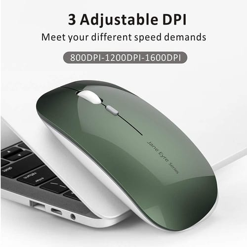 Review Picktech Q5 Slim Rechargeable Wireless Mouse