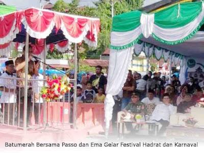 Batumerah Bersama Passo dan Ema Gelar Festival Hadrat dan Karnaval