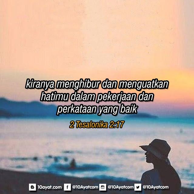 2 Tesalonika 2:17