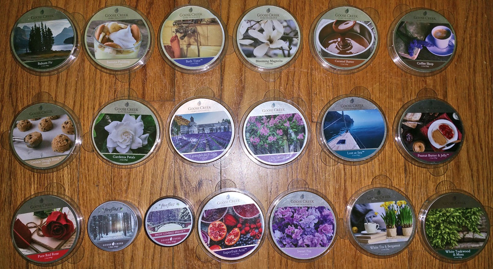Scented Wax Melt Reviews: Goose Creek Candle Scented Wax Melts ...