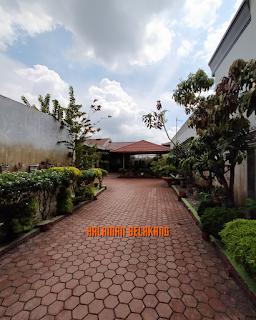 Halaman belakang rumah Di Komplek Pertamina Jl Air Bersih Ujung Medan Denai - Medan