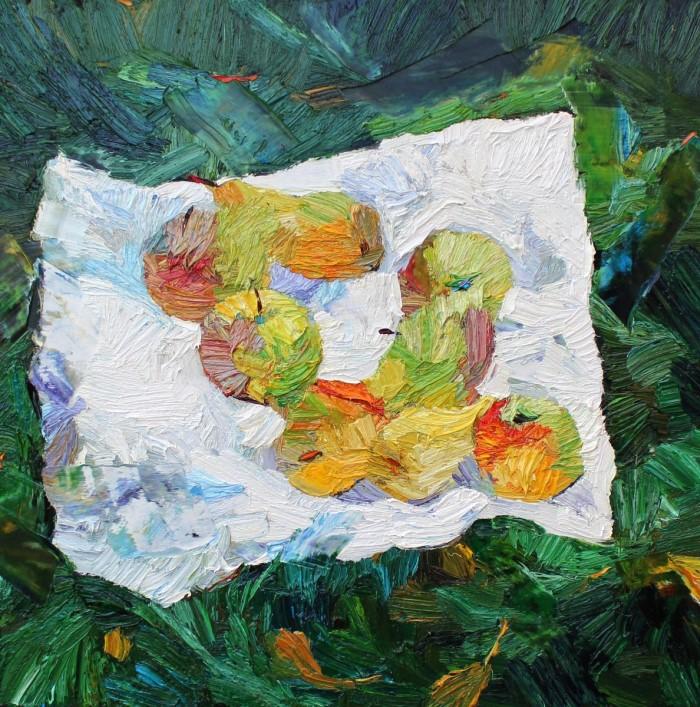 Масляные краски. Lia Aminov 3