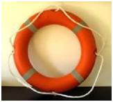 Peralatan Keselamatan di Kapal, pelampung penolong bentuk cincin