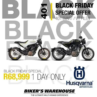 Bikers Warehouse  Black Friday