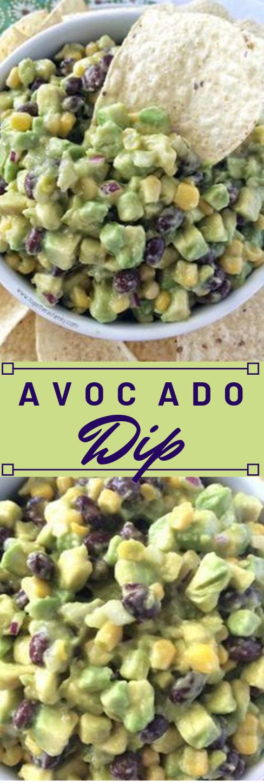 AVOCADO DIP #healthydinner #avocado #recipes #familyfood #dip