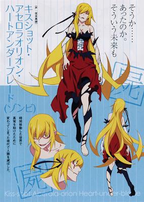 Kiss-shot Acelora-orion Heart-under-blade trong Kabukimonogatari