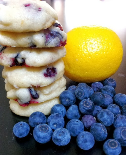Blueberry Lemon Cookies – Tasty Apron