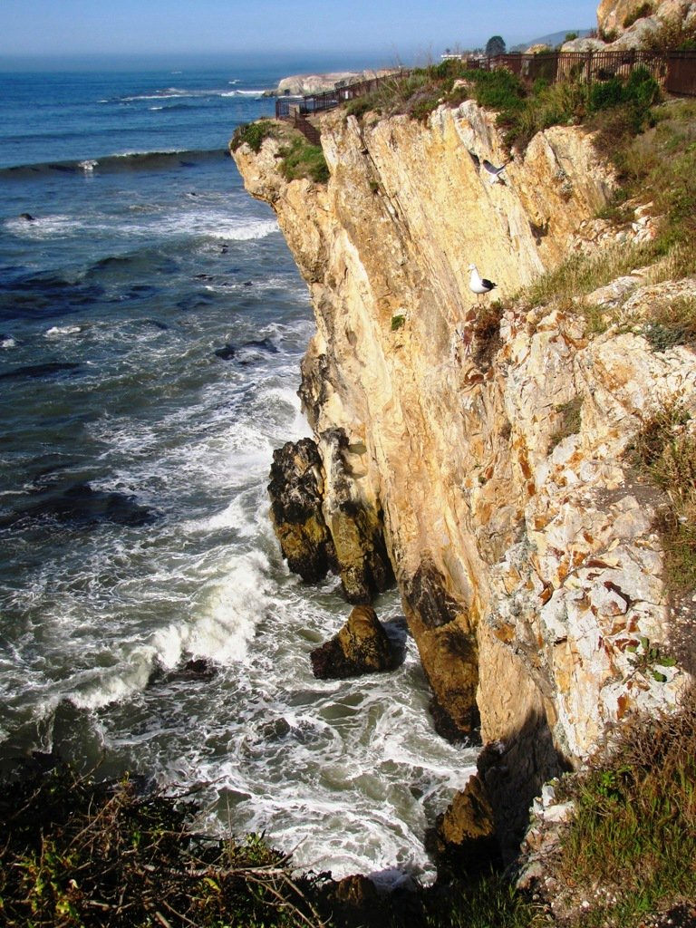 Marine Geology and Geophysics - California's central coast, just north of Pismo Beach