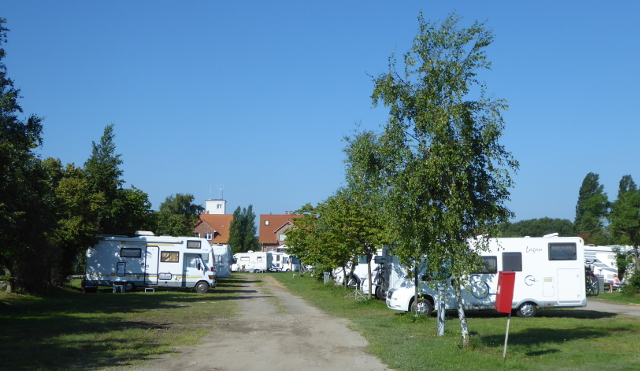 Timmendorf, pàrquing-càmping d'autocaravanes