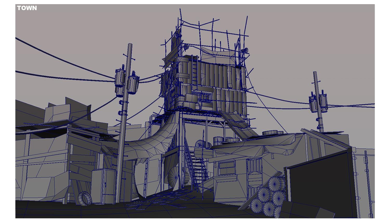Jungmin Hong - 3D Modeling, Concept Art: 3D Environment