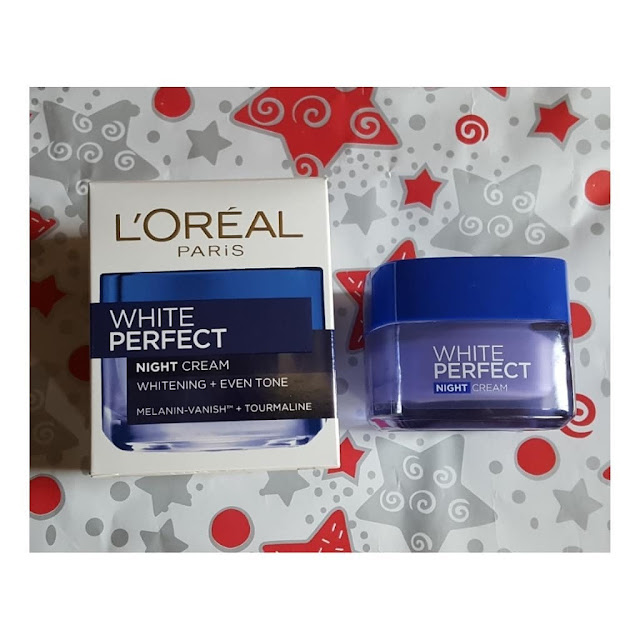 L'oreal White Perfect Night Cream untuk usia 20an