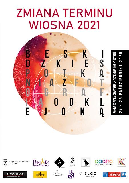 Zmiana terminu Beskidzkich Spotkań z Fotografią Odklejoną - wiosna 2021.