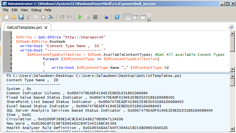sharepoint 2010 content type id format