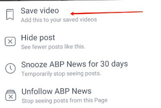 online facebook video download kaise kare