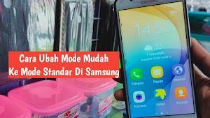 Cara Menonaktifkan Mode mudah Di Hp Samsung